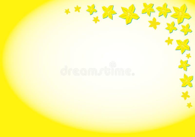 Download Narzissen-Hintergrund stock abbildung. Illustration von floral - 39374