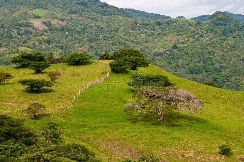 Nas montanhas de Nicarágua fotos de stock