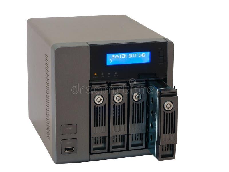 NAS Network Storage Drive royalty-vrije stock foto