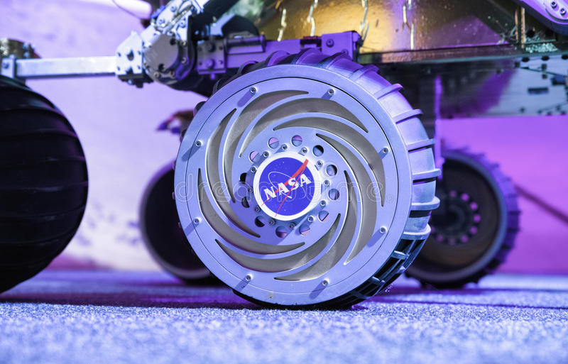 NASA логотипа на возможности вездехода стоковое фото rf