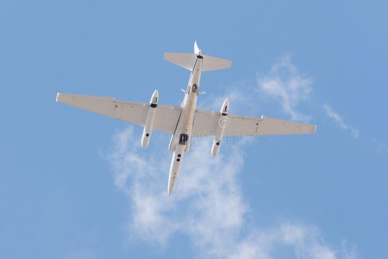 NASA Lockheed ER-2 στην επίδειξη στοκ φωτογραφίες με δικαίωμα ελεύθερης χρήσης