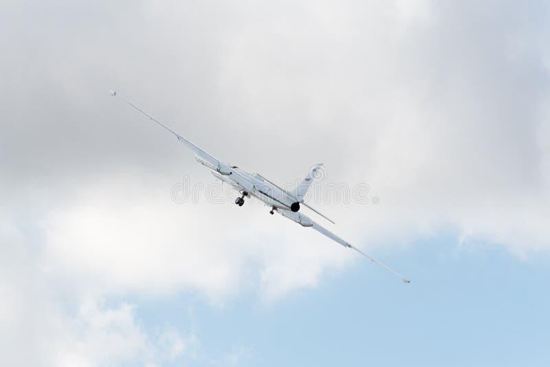 NASA Lockheed ER-2 στην επίδειξη στοκ φωτογραφία