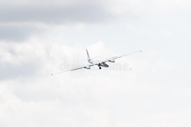 NASA Lockheed ER-2 на дисплее стоковые фотографии rf