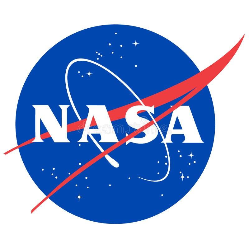 Nasa-logo stock illustrationer