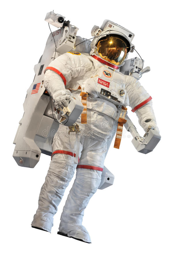 NASA's Astronaut's Space Suit royalty free stock photo
