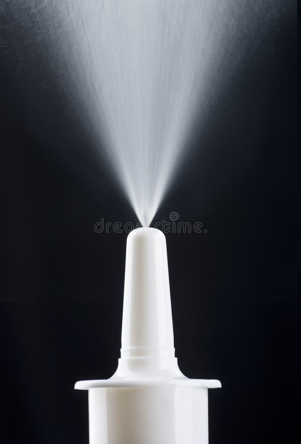 nasal pumpspray arkivfoton