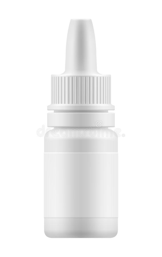 Free Nasal Spray For Nose Health. Royalty Free Stock Photography - 78172567