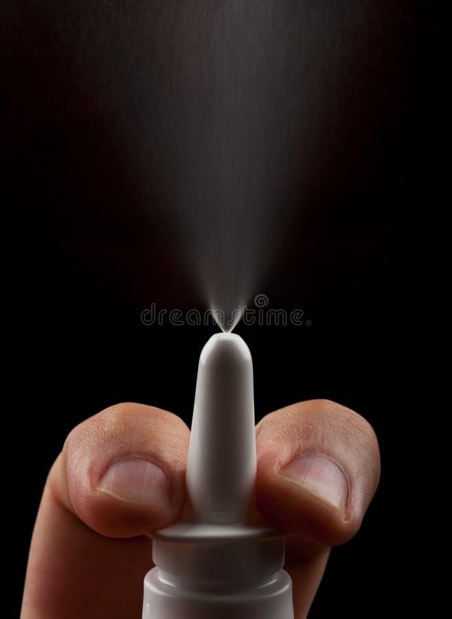 Nasaler Spray Lizenzfreies Stockbild