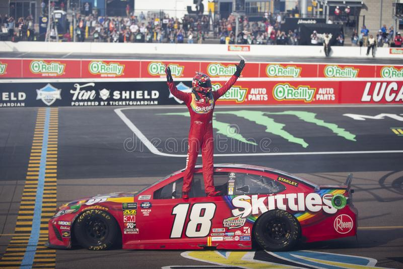 NASCAR: Φύλακας 500 εισιτηρίων στις 10 Μαρτίου στοκ εικόνα