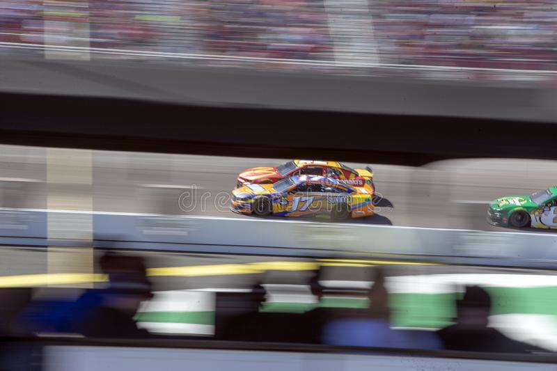 NASCAR: Φύλακας 500 εισιτηρίων στις 10 Μαρτίου στοκ φωτογραφία