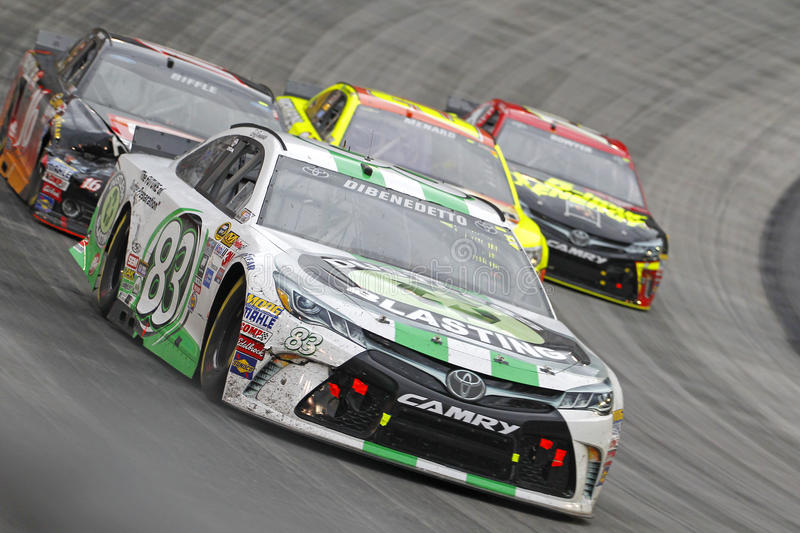 NASCAR: Πόλη 500 τροφίμων στις 19 Απριλίου στοκ εικόνα με δικαίωμα ελεύθερης χρήσης