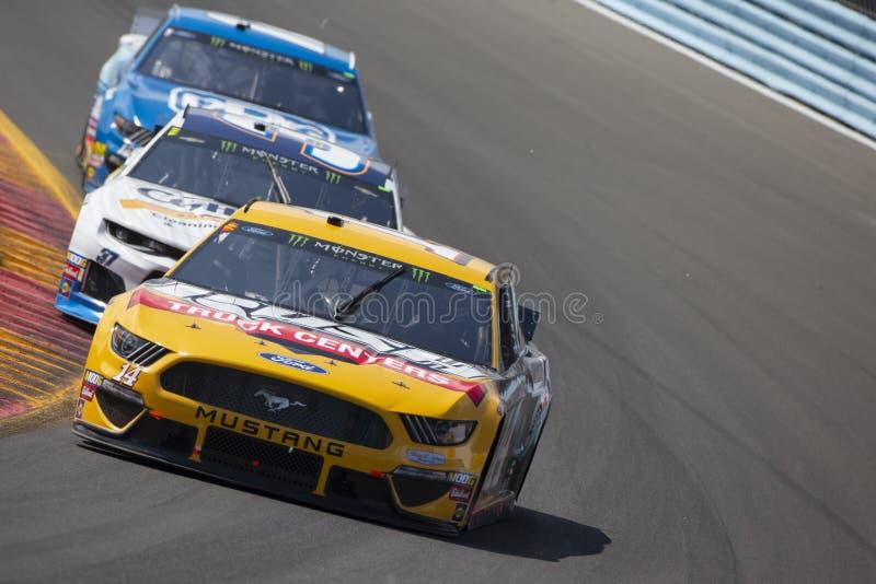 NASCAR: Στις 4 Αυγούστου πηγαίνει στο Glen στοκ φωτογραφία