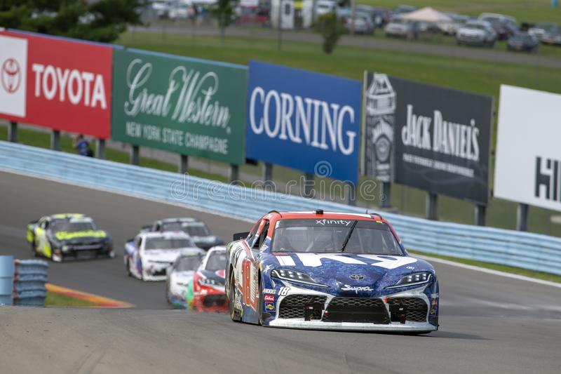 NASCAR: Στις 3 Αυγούστου Zippo 200 στοκ φωτογραφίες με δικαίωμα ελεύθερης χρήσης