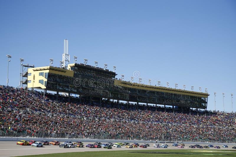 NASCAR: Казино 400 21-ое октября Голливуда стоковые фотографии rf