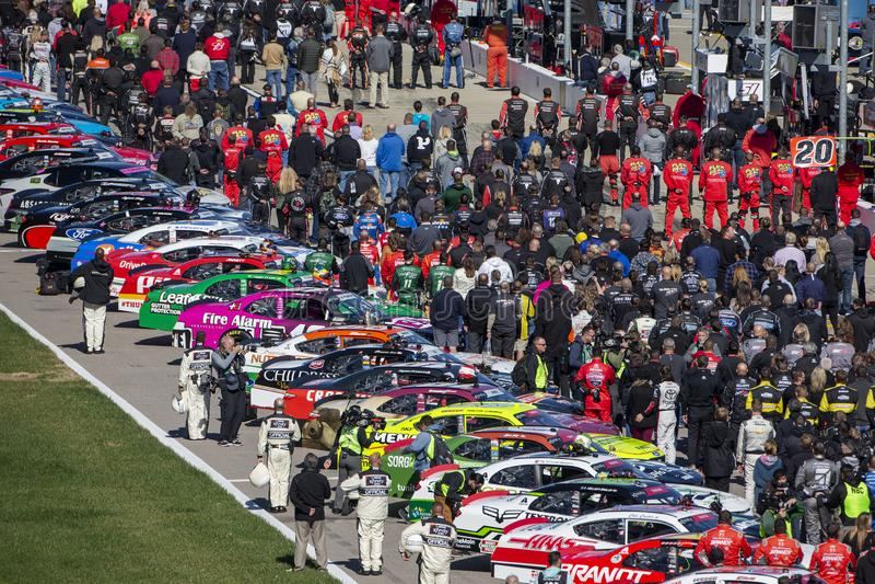 NASCAR: Лотерея 300 20-ое октября Канзаса стоковая фотография