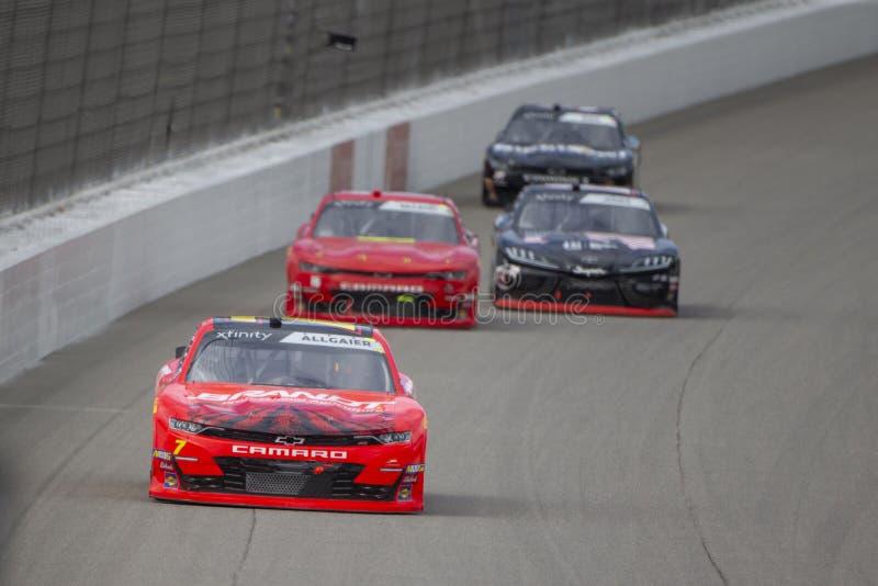 NASCAR: Печатание 250 8-ое июня LTi стоковые фото