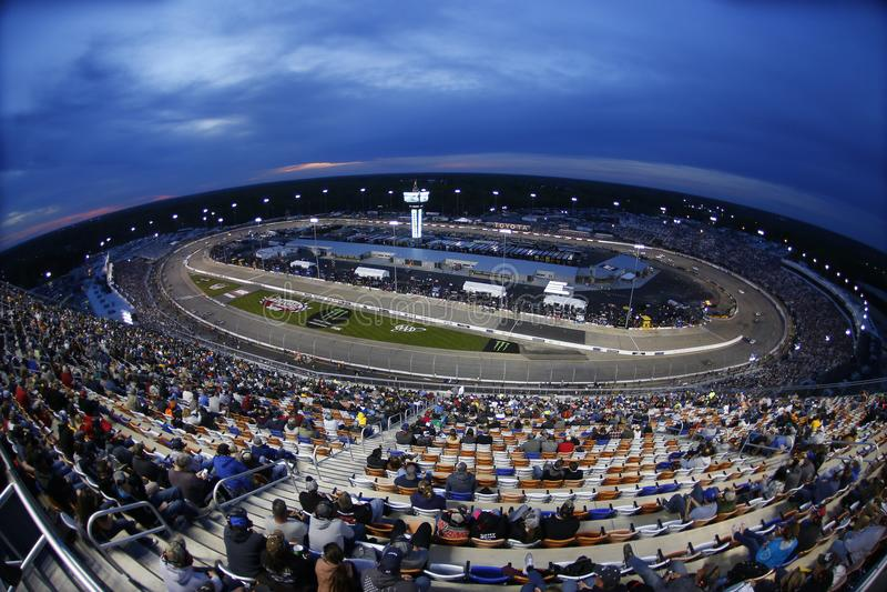 NASCAR: Предприниматели 400 21-ое апреля Тойота стоковое фото rf