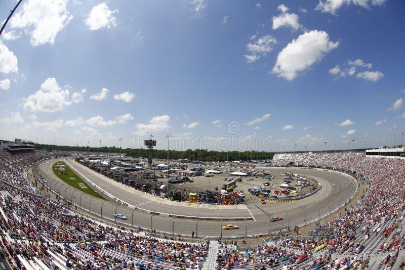 NASCAR: Предприниматели 400 30-ое апреля Тойота стоковая фотография