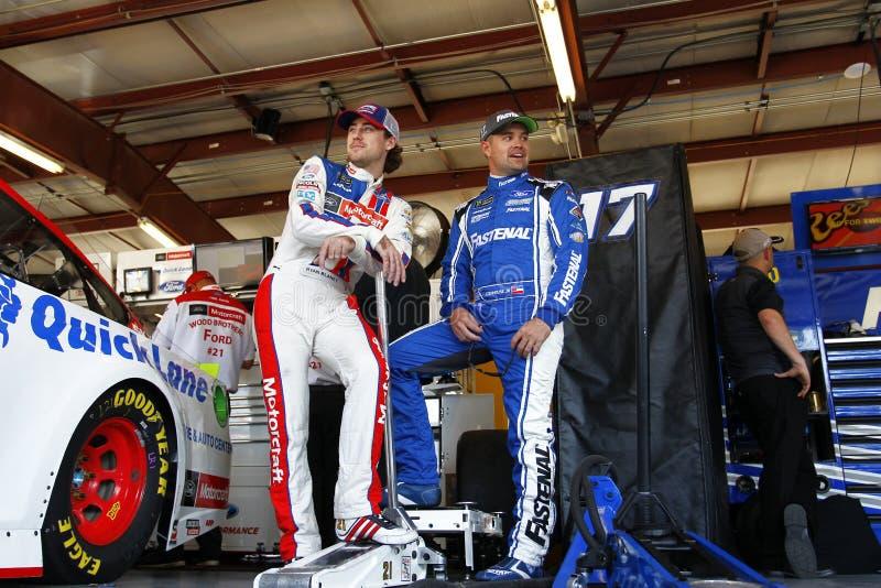 NASCAR :乌龟400的9月15日传说 免版税图库摄影