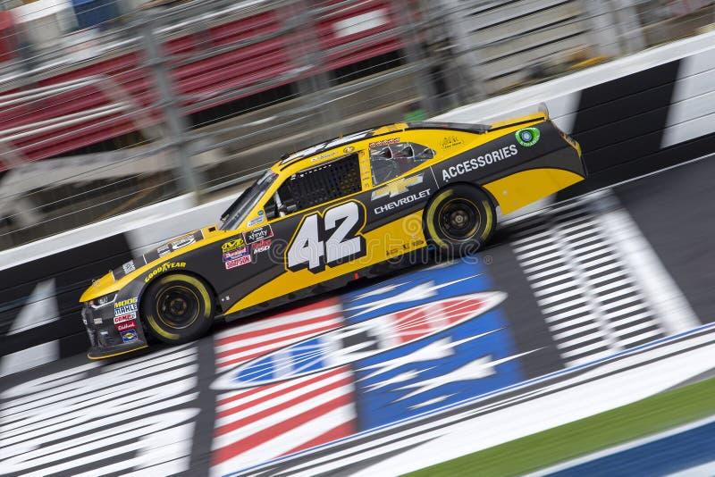 NASCAR :治疗的200 9月28日驱动 库存图片