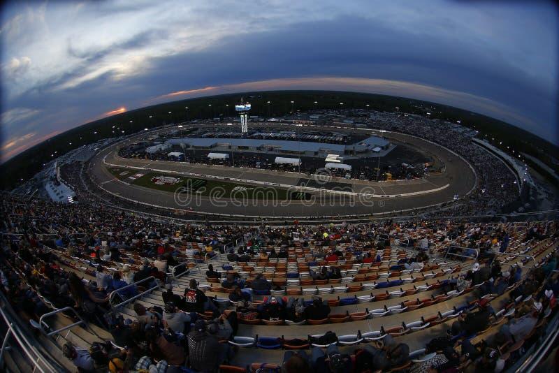 NASCAR :4月21日丰田所有者400 库存照片