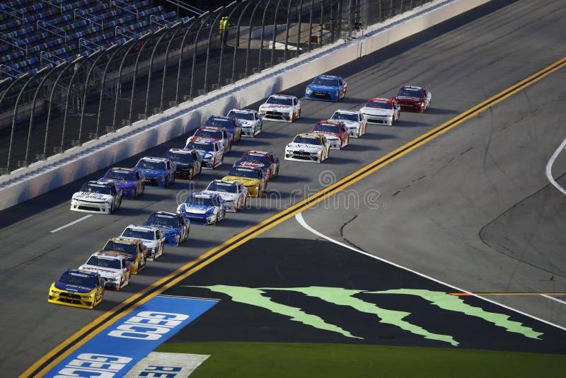 NASCAR :7月06日可口可乐爆竹250 免版税库存照片