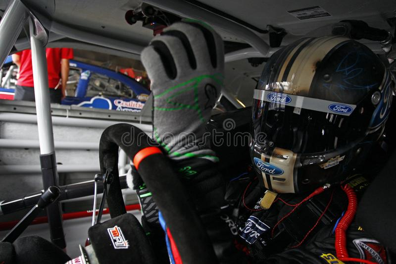 NASCAR :200 10月05日巴港 免版税库存图片