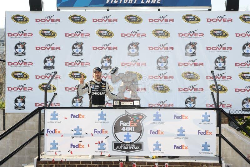 NASCAR :400 6月01日联邦快递公司 库存照片