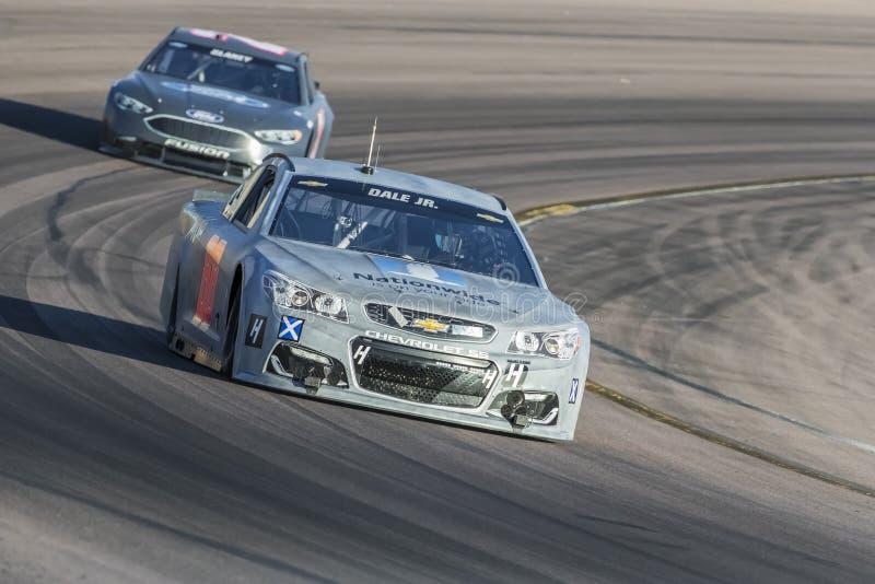 NASCAR :1月31日菲尼斯开放测试 免版税图库摄影