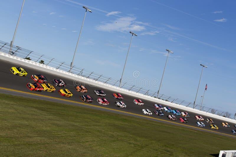 NASCAR :500 2月21日Daytona 免版税库存照片