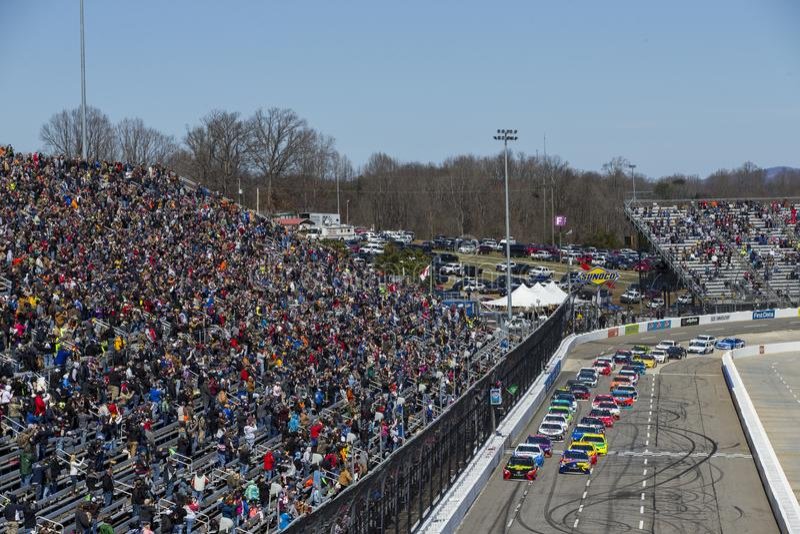 NASCAR :500 3月26日STP 免版税图库摄影
