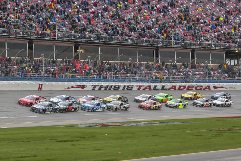 NASCAR 2013年:Sprint杯系列Aarons 5月499 05日 免版税图库摄影