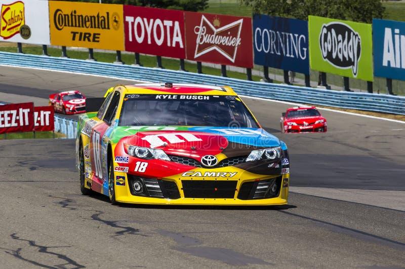 NASCAR 2013年:Sprint杯系列Cheez它355在幽谷8月 图库摄影