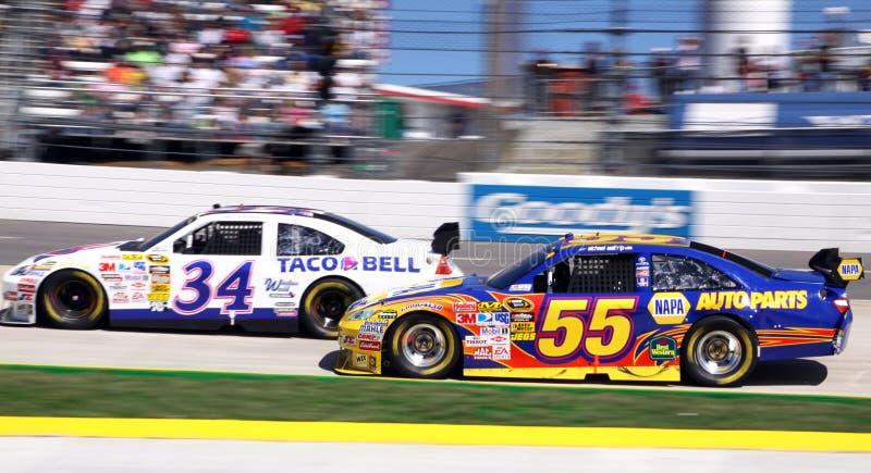 NASCAR 09 - zoom do zoom! foto de stock