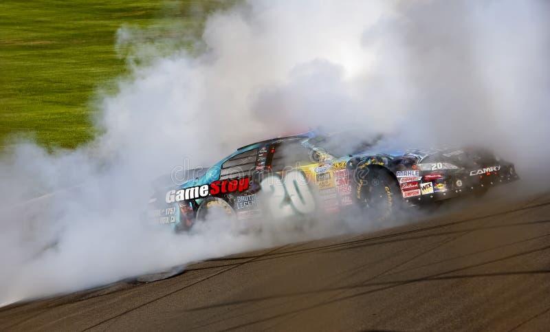 NASCAR: 10 oktober Copart 300 stock fotografie