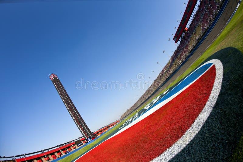 NASCAR: 10 oktober Copart 300 stock foto
