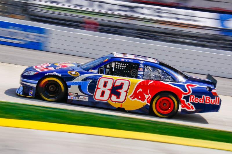 NASCAR 10 - Red Bull jejua! imagens de stock
