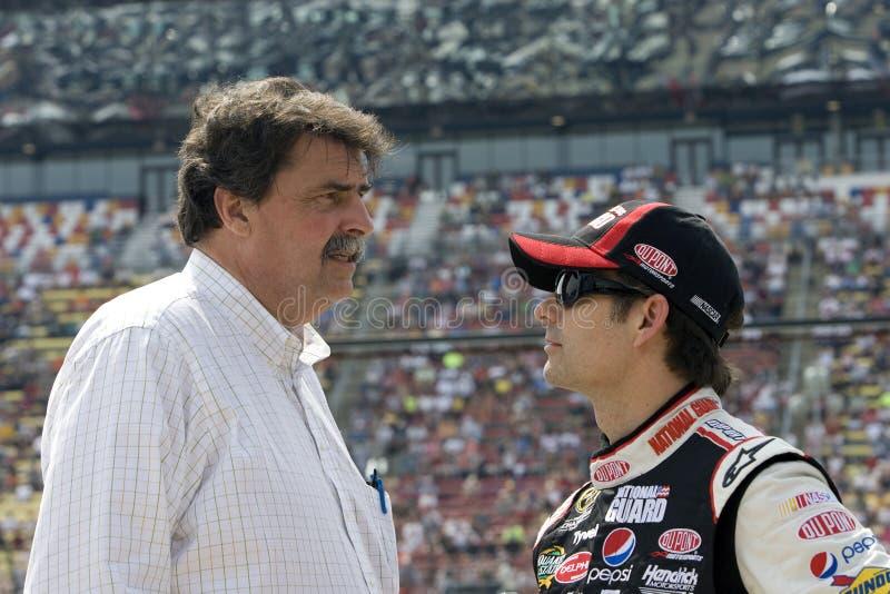 NASCAR: 11 juni Goed Heluva! De zure room dompelt 400 onder stock afbeelding
