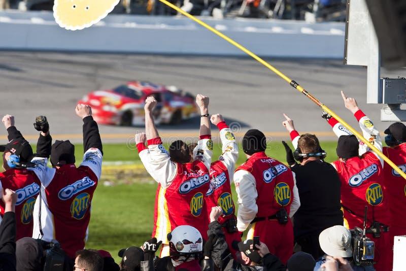 NASCAR : 13 février Drive4COPD 300 photo libre de droits