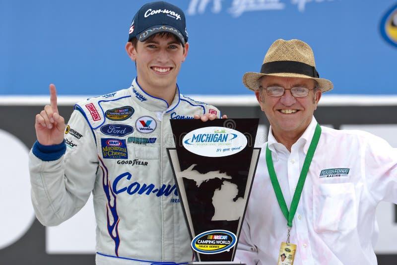 NASCAR : 13 juin Michigan 200 images libres de droits