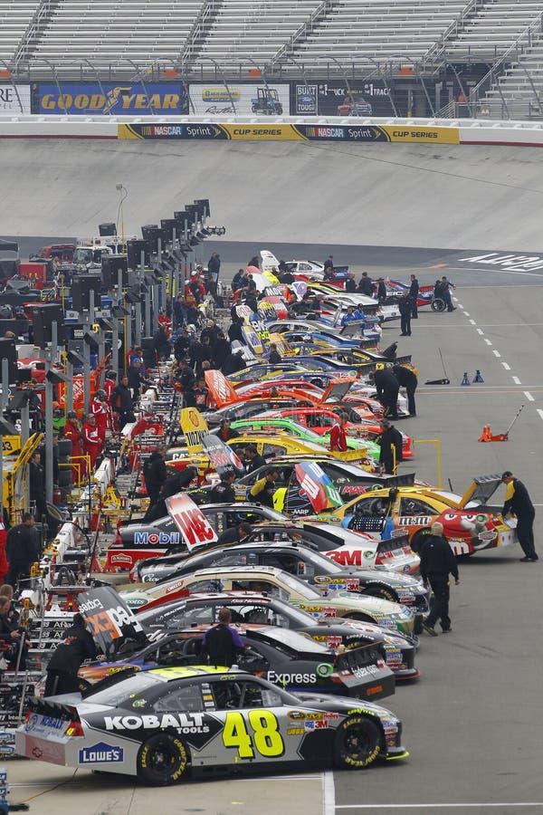 NASCAR: 18 marzo Jeff Byrd 500 immagini stock libere da diritti