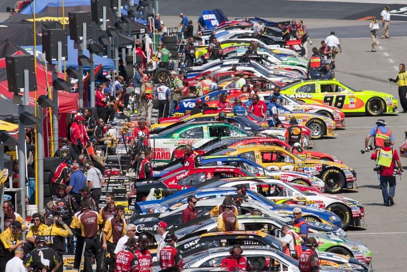 NASCAR: 20. August Irwin bearbeitet Nachtrennen stockbild
