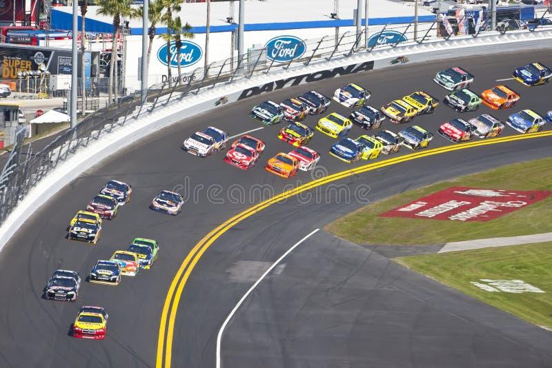 NASCAR: 20 februari Daytona 500 stock foto's