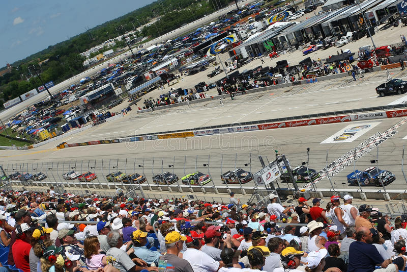 NASCAR: 20 giugno Copart 200 immagini stock libere da diritti