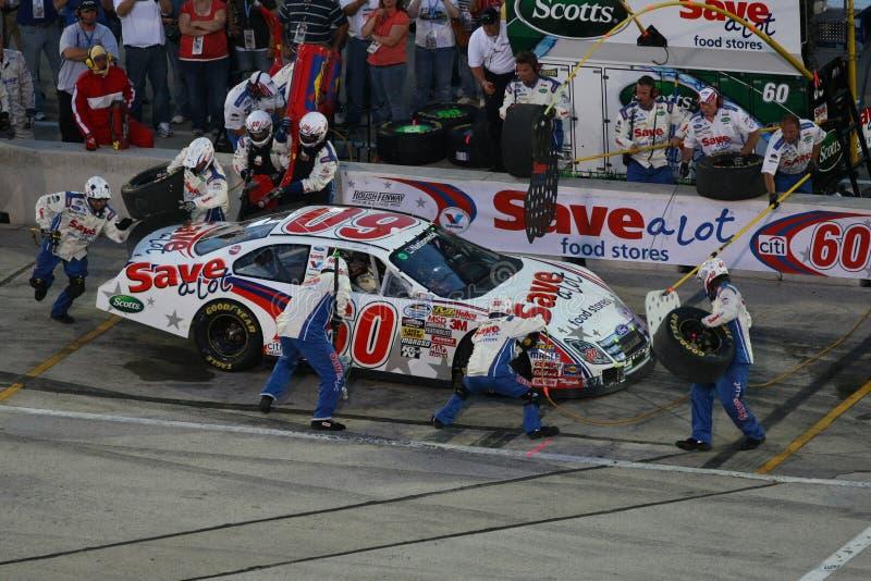 NASCAR: 20. Juni NordTool.com 250 lizenzfreies stockbild