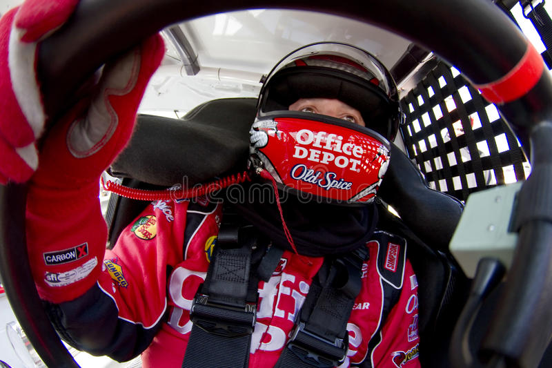 NASCAR: 20 maart Stad 500 van het Voedsel royalty-vrije stock afbeelding