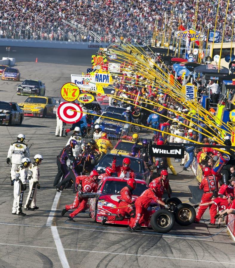 NASCAR: 20 september Sylvania 300 stock foto's