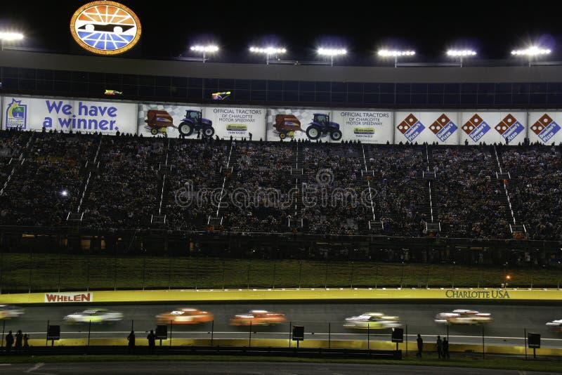 NASCAR - 2010 toda a raça da estrela em Charlotte fotografia de stock royalty free