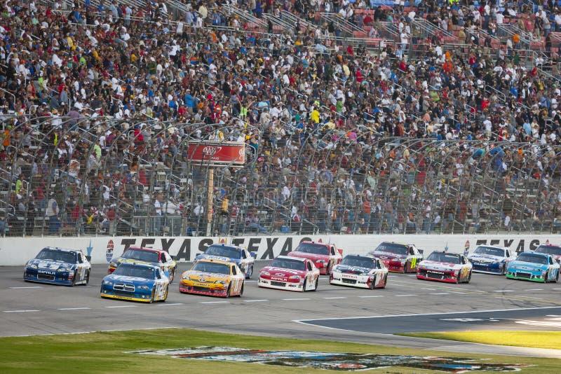NASCAR 2012: AAA Teksas 500 NOV 02 obraz stock