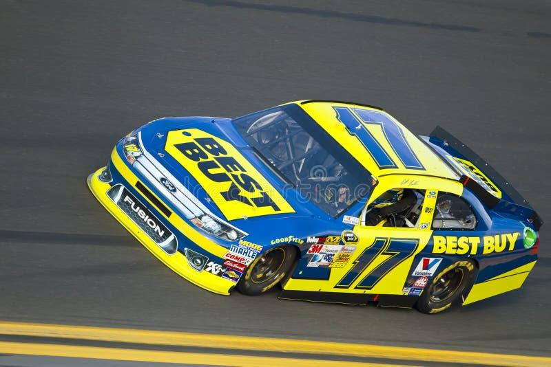NASCAR 2012: Duelo el 2 de febrero de 23 de Gatorade imagen de archivo libre de regalías